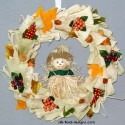 Straw Wreaths
