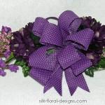 Purple Twig Swag