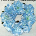 Blue Mini Wreath 6in.