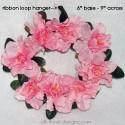Pink Mini Wreath 6in.