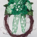St Patrick's Day Grapevine Wreath