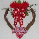 Valentine's Day Grapevine Heart 1