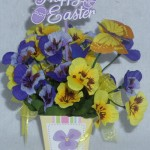Mini Pansy Box 2 for Easter