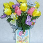 Easter gift bag 3 floral arrangement